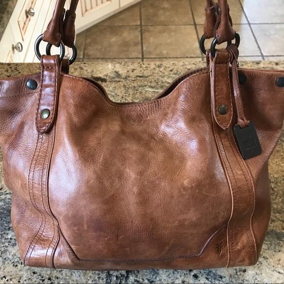 3571a493343 Frye Bags | Melissa Shoulder Bag In Cognac | Poshmark
